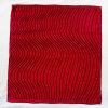 Colore rosso della sciarpa della seta di 100% per il regalo delle donne