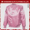 Inverno cor-de-rosa do revestimento do basebol do time do colégio do cetim das mulheres (ELTBJI-64)