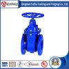 Válvula de porta de aumentação da haste do ferro Ductile das BS 5163