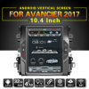 10.4  GPS van de Auto DVD van het Scherm van de Aanraking voor Honda Avancier /Crown 2017