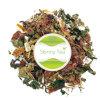 Mais baixo chá erval natural orgânico da hipertensão da pressão sanguínea do colesterol e do controle com etiqueta confidencial