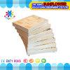 O Desktop de madeira das crianças brinca o enigma de madeira dos blocos de apartamentos desenvolventes dos brinquedos