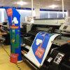 Stand graphique polychrome fait sur commande de bannière de tissu d'impression pour l'exposition commerciale commerciale
