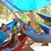 屋外の卵の椅子のキャンプの蚊帳のChaiseのSuspenduのハングの椅子