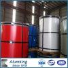 Coustomized 1000 Reeksen Kleur Met een laag bedekt/de van de Vooraf geverfte Rol van het Aluminium met PVDF