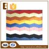 Panneau acoustique en gros coloré de fibre de polyester de l'élastique KTV d'Euroyal