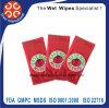 Полотенца трактира и гостиницы хорошего качества устранимые влажные определяют Wipe пакета