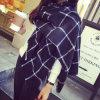 Sciarpa di grande misura di Pashmina del plaid dello scialle caldo poco costoso all'ingrosso di inverno