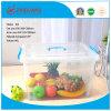 Do agregado familiar móvel plástico do espaço livre da caixa de armazenamento da alta qualidade 40L recipiente plástico com rodas