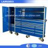 Nós armário geral do aço inoxidável com as rodas que rolam a caixa de ferramentas