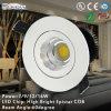 Heet-Selling Cool White Adjustable 16W COB LED Downlight (QD18-P16W-B1)