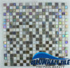 15X15mm Hot Melt Glass Mosaic Swimming Pool Tile (BGC008)