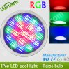 luces de la piscina del RGB PAR56 LED del poder más elevado de 12PCS 3W, luz de la lámpara del bulbo de la piscina de PAR56 LED