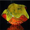 De grote Oranje Kom van het Glas van de Decoratie