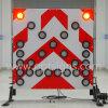 En12966 표준 Tma 트럭에 의하여 거치되는 LED 화살 널 표시