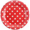 Porción del vajilla de China del fabricante de las placas de papel de la torta