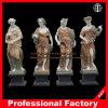 Scultura di marmo di scultura di pietra di quattro stagioni dell'hotel della scultura di Itlian della scultura della statua di marmo del giardino