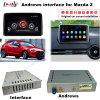 Relação Android da navegação do carro para a navegação do toque do melhoramento Mazda2, jogo Stor, WiFi, BT, Mirrorlink, HD 1080P