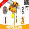 Maxload projeto da altura livre de 1 tonelada grua elétrica resistente do baixo