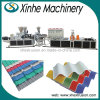 Protuberancia plástica interna del azulejo de azotea del PVC de la alta calidad que hace espuma que hace la línea de la máquina