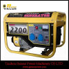 2.2kw Gasoline Generator, 5.5HP Engine168f con Copper 100% da vendere