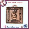 Медаль изготовленный на заказ антиквариата заливки формы латунное съездовское с тесемкой