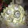20의 X LED 참신 로즈 꽃 요전같은 끈 빛을 점화하는 형식 휴일
