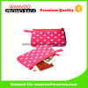 Nylon Pink DOT Promotion Marque Plat Designer Cosmetic Bag