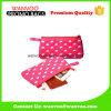 Nylon Pink DOT Promoção Brand Plat Designer Cosmetic Bag