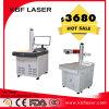 Etiqueta de plástico de escritorio del laser de la maquinaria de la marca del laser