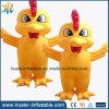 Aufblasbares Huhn-Modell, kundenspezifische aufblasbare Produkt-Form für das Bekanntmachen