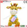 아기를 위한 박제 동물 지라프 연약한 장난감