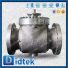 Фланец Bore Didtek A216 уменьшенный Wcb кончает верхний шариковый клапан входа