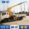 망원경 붐 트럭에 의하여 거치되는 유압 기중기 5 톤