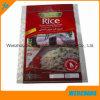 Sacchetto d'imballaggio tessuto pp per riso/cemento/zucchero