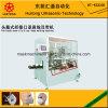Automático por ultrasonidos Fold Clip máscara de la nariz y Earloop soldadura de la máquina (tipo de cabeza)