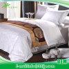 耐久の綿繻子最高のホテルのためのリネンシートセット