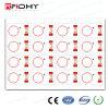 Frecuencia Dual 4 * 4 * 3 8 Hoja de RFID PVC Inlay