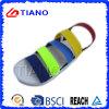 Cinghia variopinta casuale e sandalo del distributore per l'uomo (TNK35598)