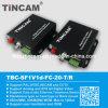 Um transceptor video audio da canaleta