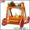 Machine de fabrication de brique creuse concrète de ponte d'oeufs avec les moules (QMY4-45)