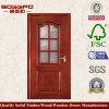現代部屋のクラフトのガラス木製のドア(XS3-003)