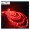Rouge-clair au néon de corde de LED pour la décoration