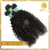 波の加工されていないマレーシアの自然で黒く深いバージンの人間の毛髪(TN-66)