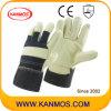 軽い家具の革靴の革作業産業手の安全手袋(310052)