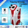 4 In1, die Maschine abnehmen: Cryolipolysis +RF+Cavitation +Lipolaser