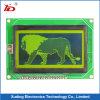 visualizzazione dell'affissione a cristalli liquidi del grafico della PANNOCCHIA 122X32 con priorità bassa giallo verde