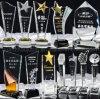 Trofeo cristalino de la taza de la concesión de la varia insignia de la alta calidad del OEM
