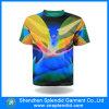 중국 t-셔츠 공장 부피 둥글 목 승진 Raglan 다채로운 t-셔츠