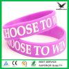 Wristband registrabile su ordinazione poco costoso del silicone